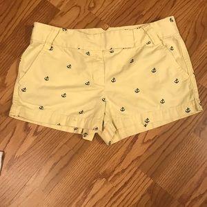 J Crew Anchor Shorts